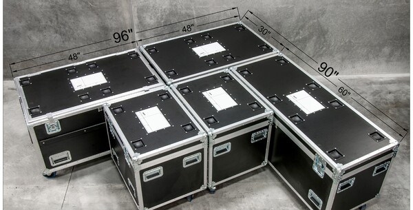 Stacking Road Case
